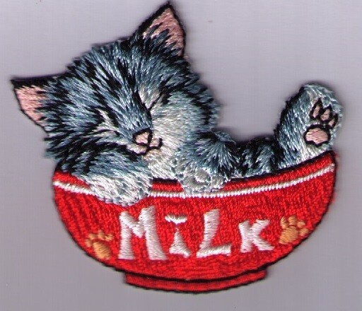 Applicatie kat milkbowl