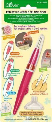 Clover viltnaalden pen
