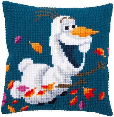 Kruissteek kussen Disney Frozen 2 Olaf