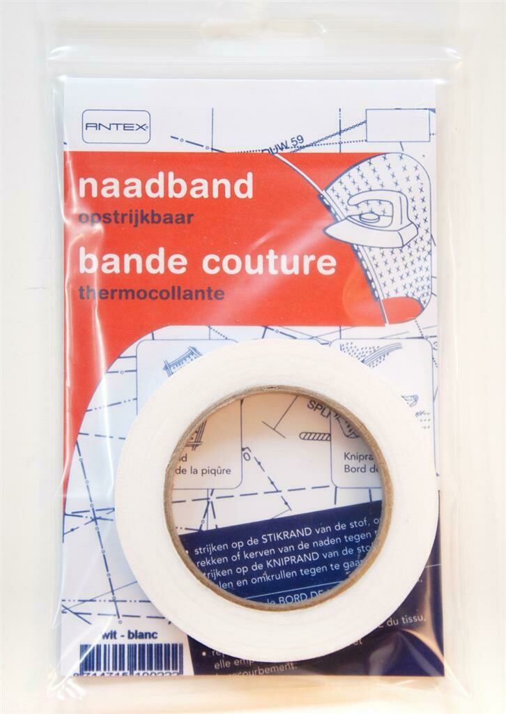 Antex naadband wit