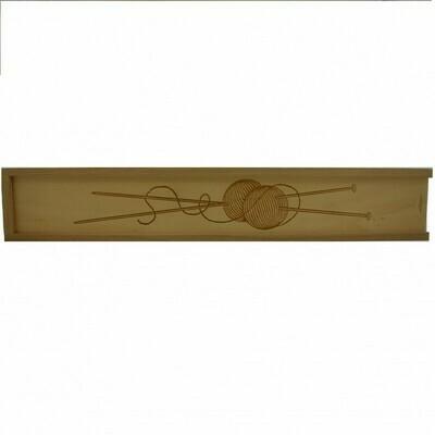 Breinaalden doos hout