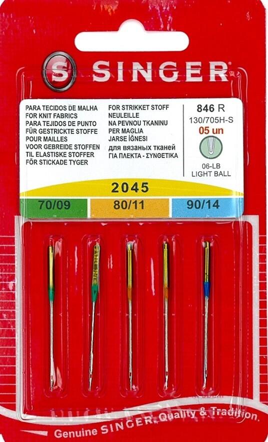Naalden voor gebreide stoffen assortiment 70-90