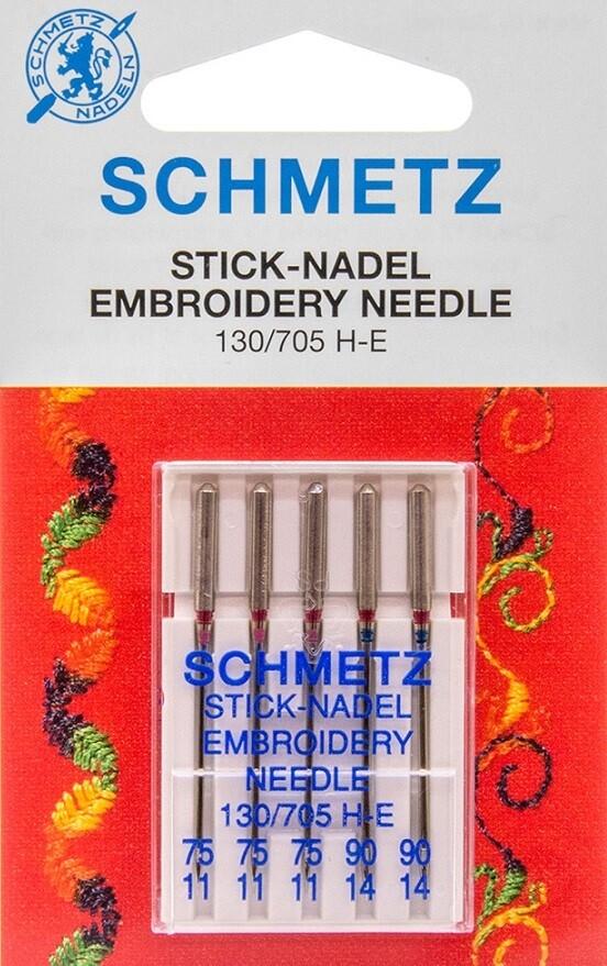 Naalden voor machinaal borduren assortiment 75-90