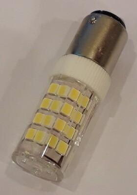 LED lampje bajonet voor Singer - Bernina - Husqvarna etc