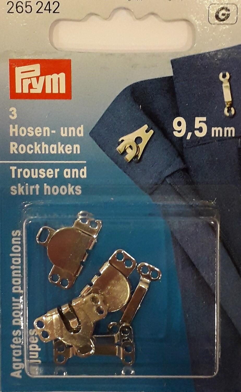 Broek- & rokhaken 9,5mm 3 stuks