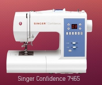Singer Confidence 7465 + gratis boek