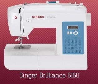 Singer Brilliance 6160 + gratis boek