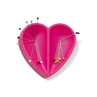 Love magnetisch speldenkussen roze hartje