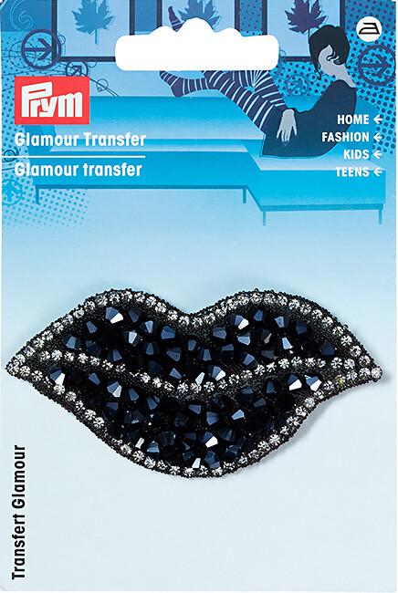 Applicatie glamour black toupille