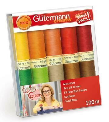 Gütermann startset 10 warme kleuren