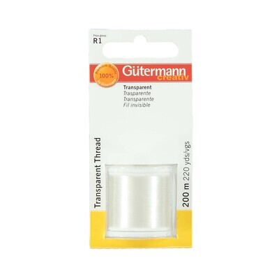 Gütermann transparant 200m