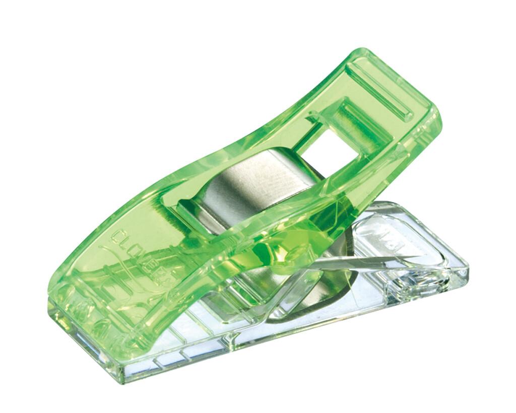 Clover Wonder Clips neon groen