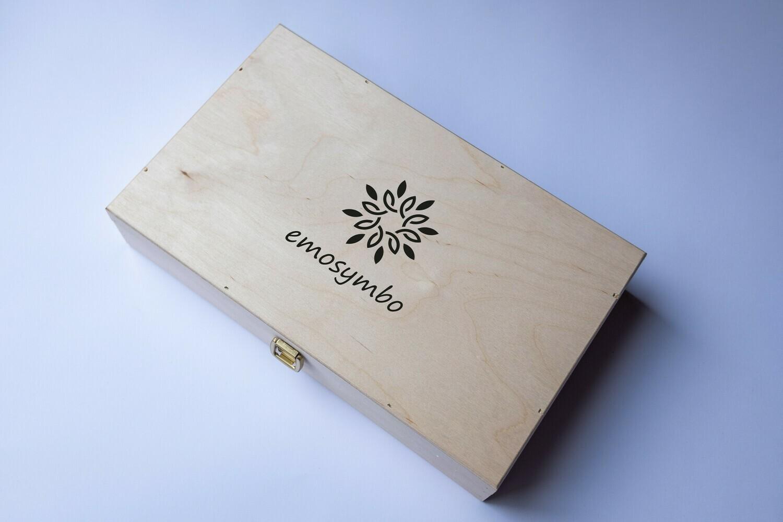 emosymbo kist met 12 sets symbolen