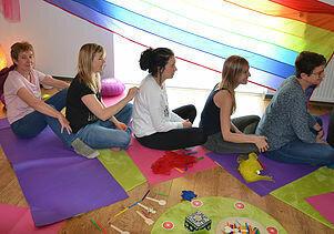 op aanvraag : creatieve workshop of yoga en creatieve verwerking
