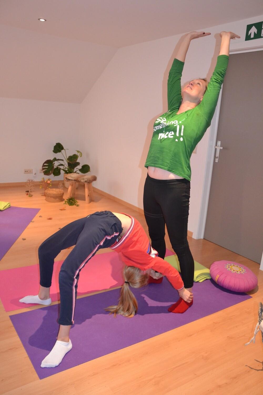 Ouder-kind yoga     vanaf september 2020