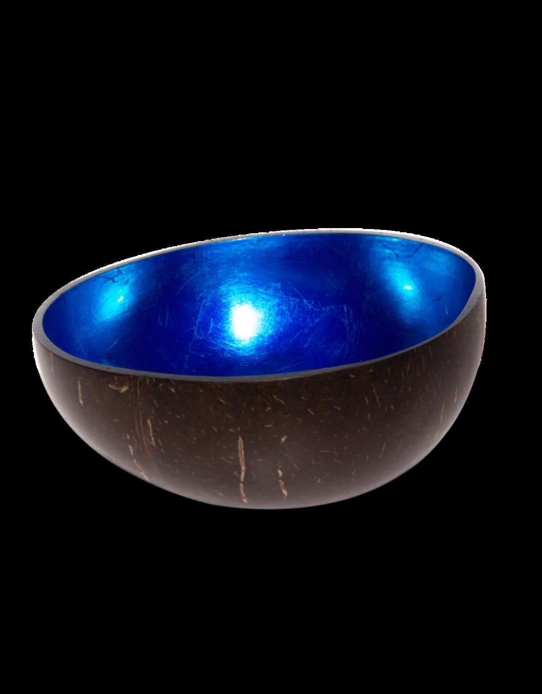 Blauw metaallak