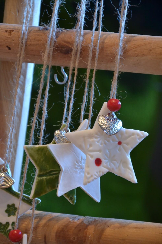Alles met porseleinklei voor kerst 13/11/2021 (stengels)