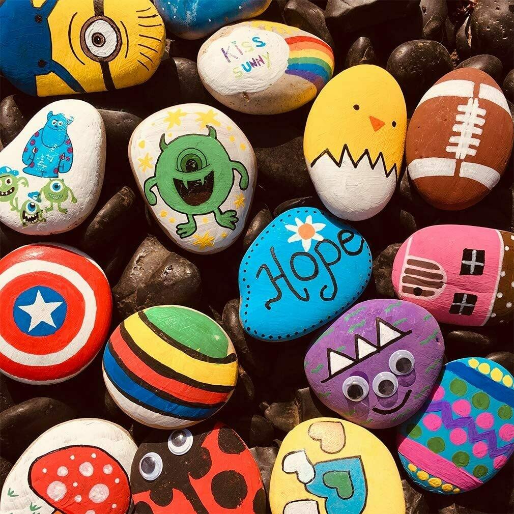 Happy Stones maken 24/07/2021  (kinderen)