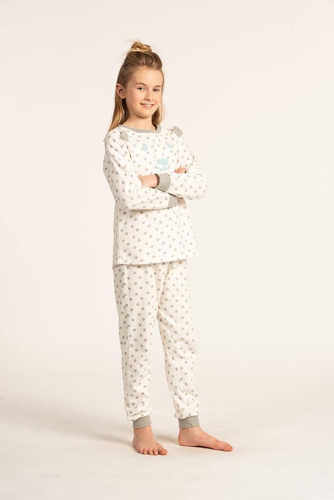 Eskimo Pyjama Meisjes: Jules gemoltoneerde Pyjama 10J - 16J
