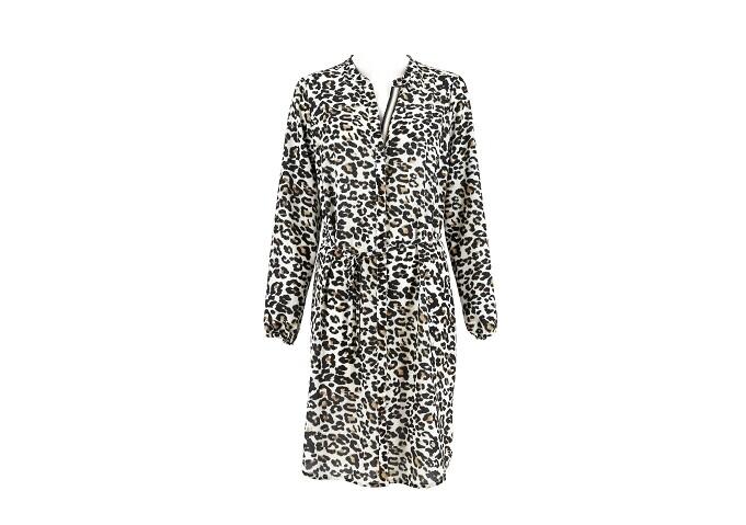 Signe Nature doorknoop kleedje luipaard motief
