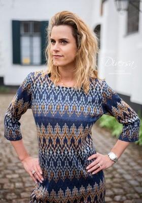 Diversa Blauw kleed: Kathy M40 - M46