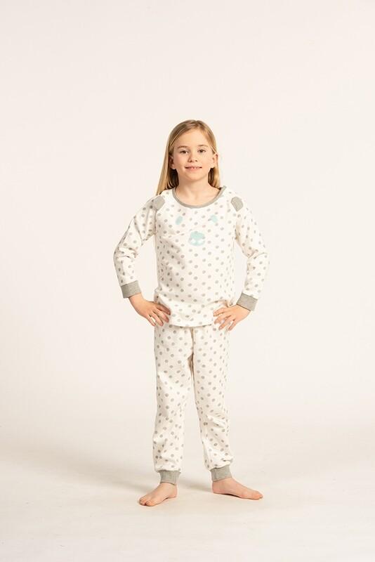 Eskimo Pyjama Meisjes: Jules Gemoltoneerde Pyjama 2j - 8j