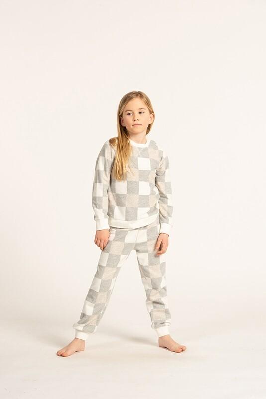 Eskimo Pyjama Meisjes: Romee Fleece Pyjama 2j - 8j