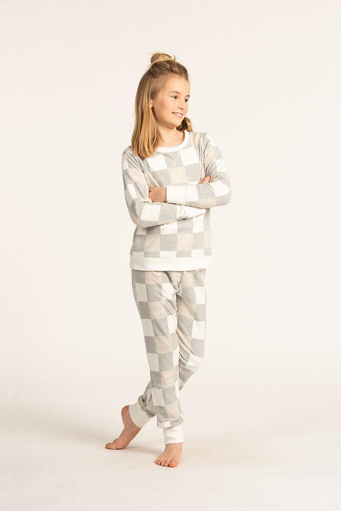 Eskimo Pyjama Meisjes: Romee fleece Pyjama 10J - 16J