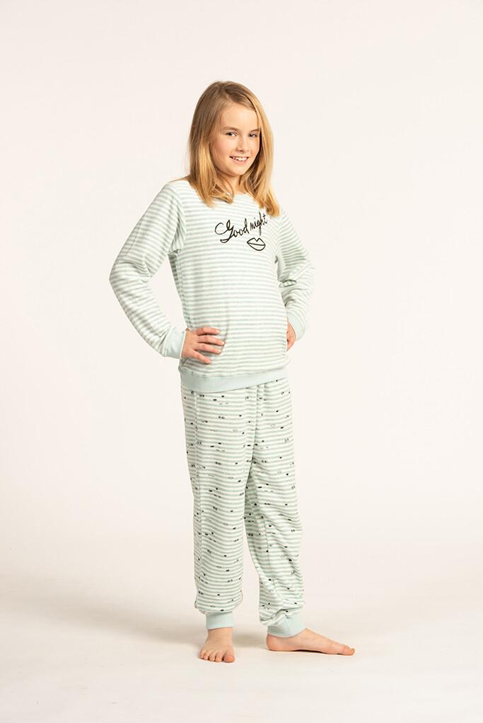 Eskimo Pyjama Meisjes: Goodnight velours 10J - 16J