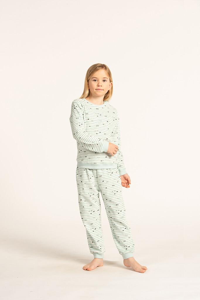 Eskimo Pyjama Meisjes: Goodnight velours ( 2j - 8j )