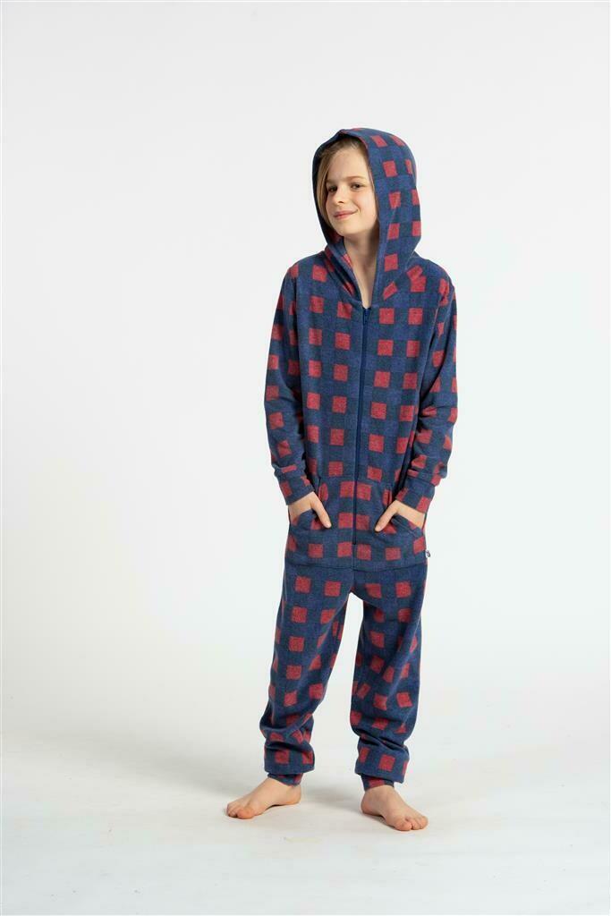Eskimo Jumpsuit Jongens / Meisjes: Tanguy Fleece stof ( 2j - 8j )