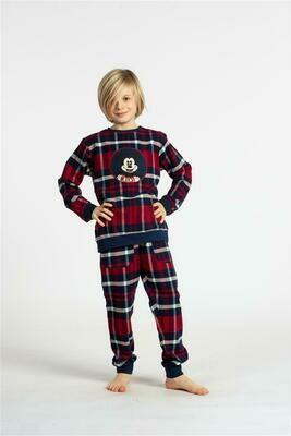 Eskimo Pyjama jongens: Mickey gemoltoneerd 10 - 12j