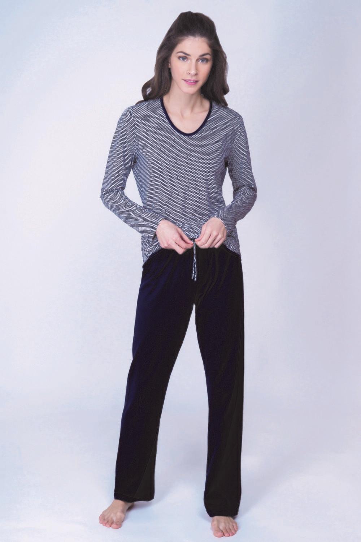 Ammann Dames Pyjama 100% Katoen