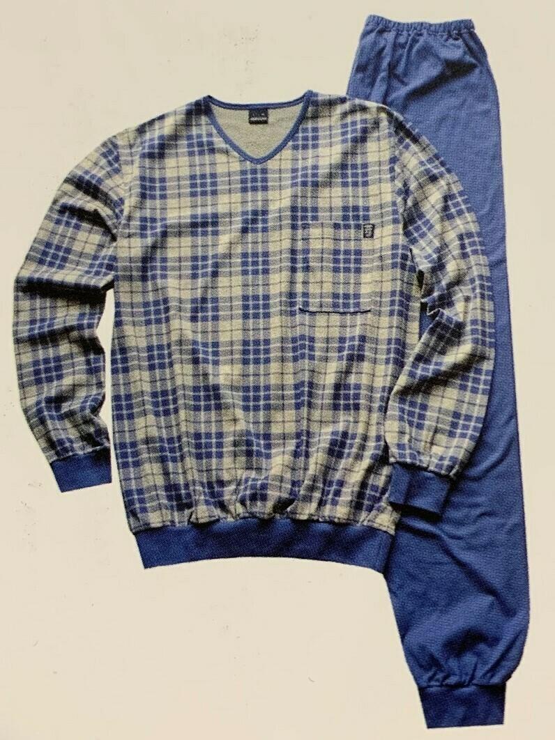 Ammann Heren pyjama S - XL 100% Katoen