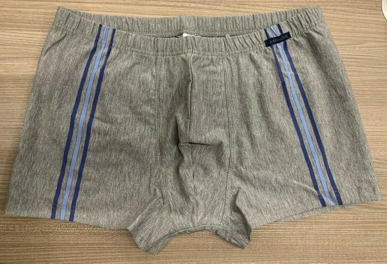 Ammann Heren Boxershort: Retro short Grijs