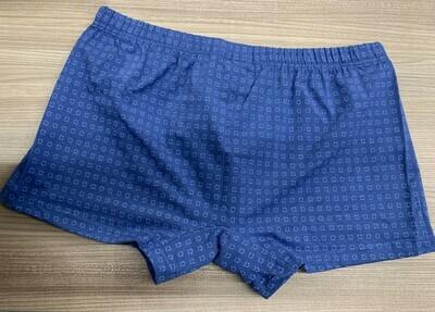 Ammann Heren Boxershort: Retro short Blauw