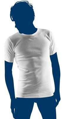Eskimo Heren onderhemd korte mouw: Fil top Wit