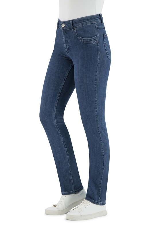 Para Mi Angela Reform Denim Medium Blue L32 ( rechte broek )