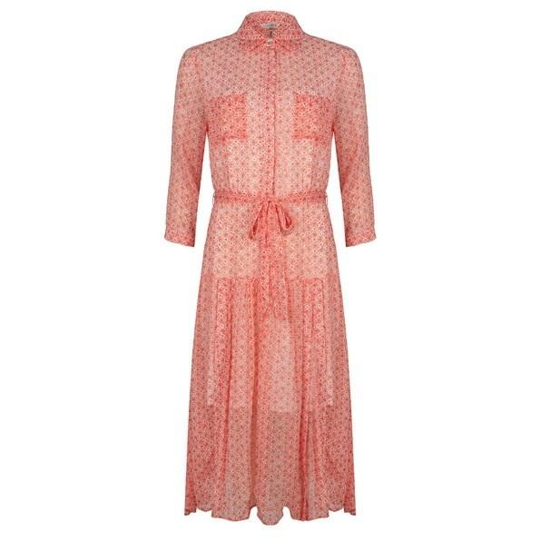 Esqualo lang kleed: Koraal kleur