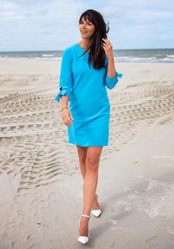 Diversa blauw kleed: Tina