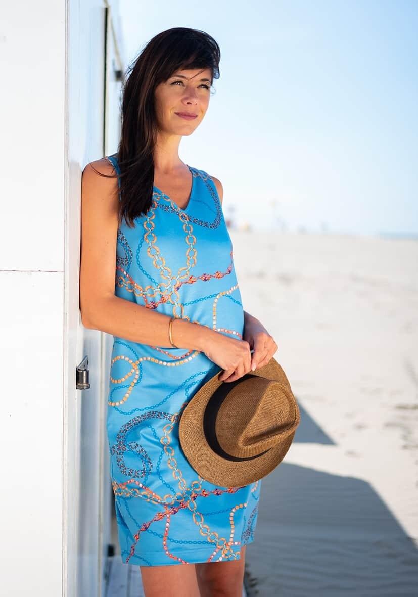 Diversa blauw kleed: LISA