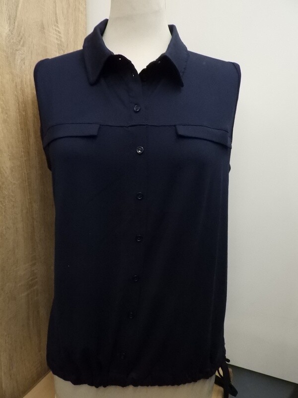 Signe Nature blauwe polo Top