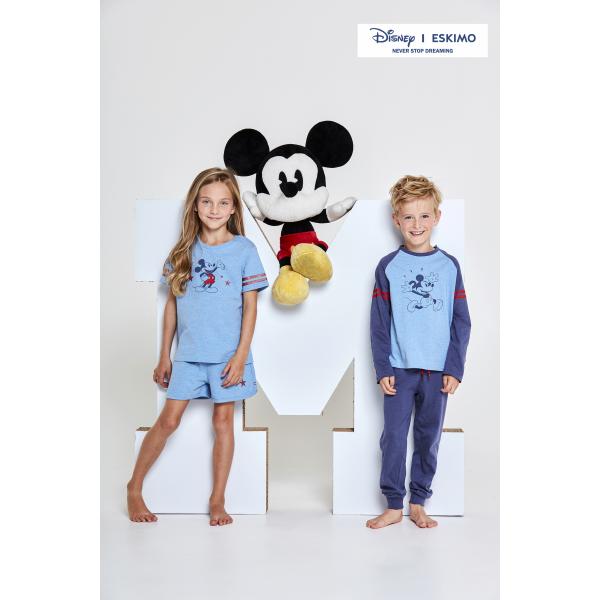 Eskimo Disney Pyjama's jongens: Indigo Mickey 100% Katoen (ESK.1201)