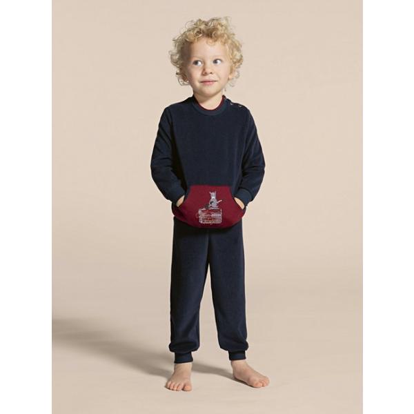 Calida jongens velours pyjama: 2 - 6jaar (CAL.17)