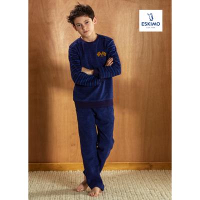 Eskimo Jonges pyjama Wim badstof
