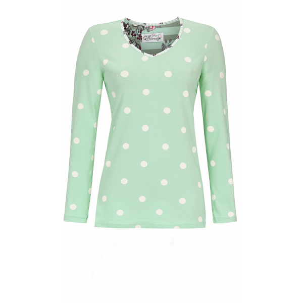 Ringella Bloomy Pyjama met bollen 100% Katoen