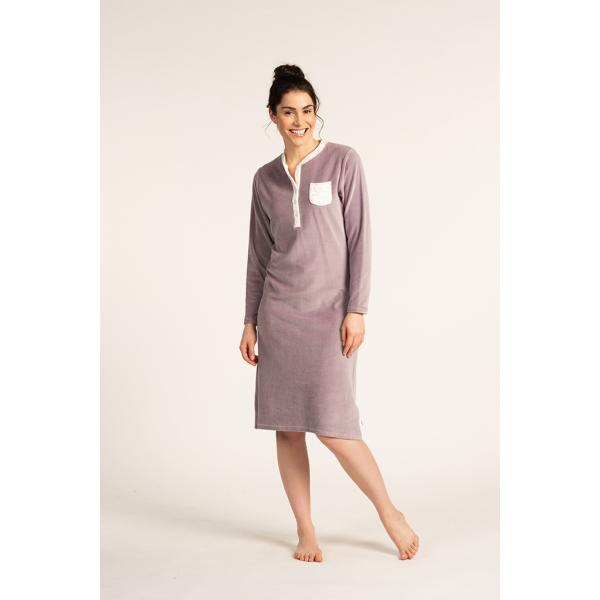 Eskimo Nachthemd Sybille: Velours