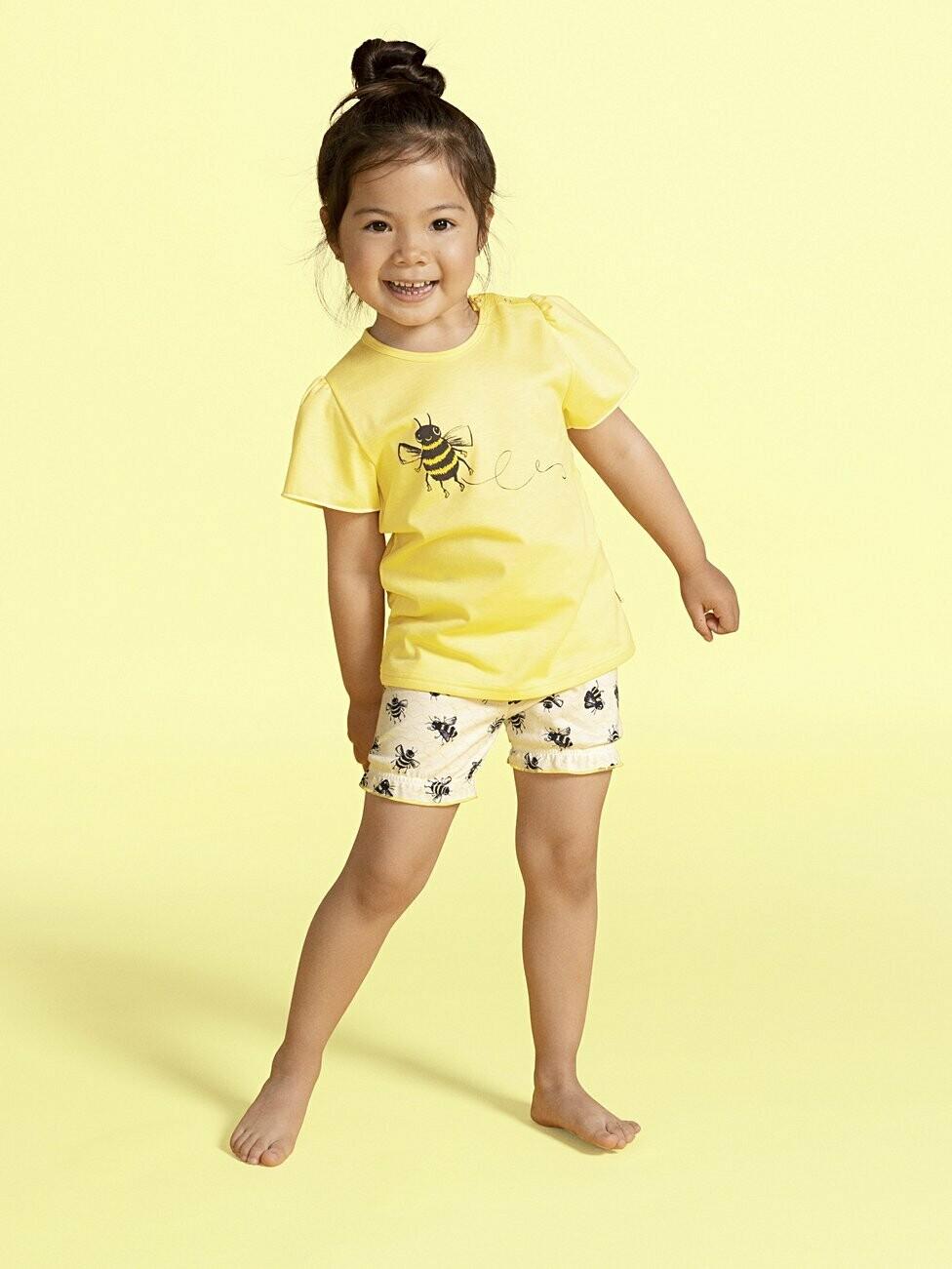 Calida meisjes Pyjama met short: