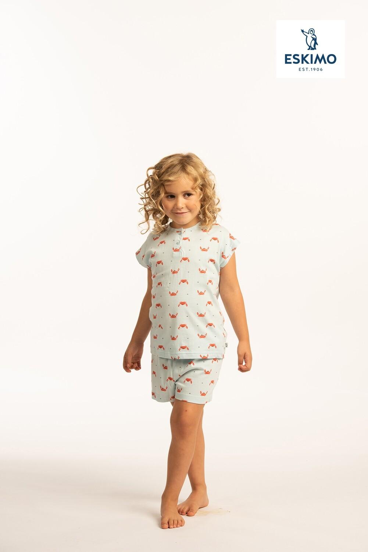 Eskimo Meisjes pyjama met short: Crab