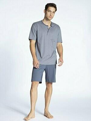 Calida Heren Pyjama met korte mouw / short 100% Katoen